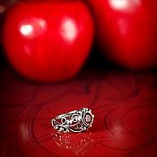 """Украшения ручной работы. Ярмарка Мастеров - ручная работа """"Poison Apple"""" Серебряное кольцо. Handmade."""