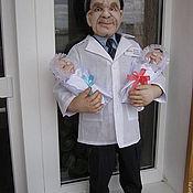 Куклы и игрушки ручной работы. Ярмарка Мастеров - ручная работа Портретная кукла по фото Врач. Handmade.
