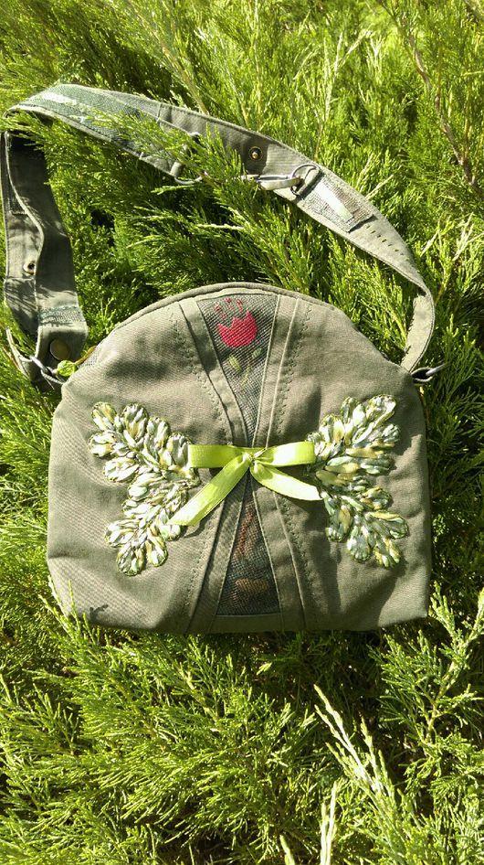 Женские сумки ручной работы. Ярмарка Мастеров - ручная работа. Купить Сумочка с вышивкой. Handmade. Сумочка через плечо, вышивка