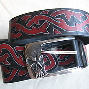 Аксессуары handmade. Livemaster - original item VANITY of VANITIES 2 leather strap with original buckle. Handmade.