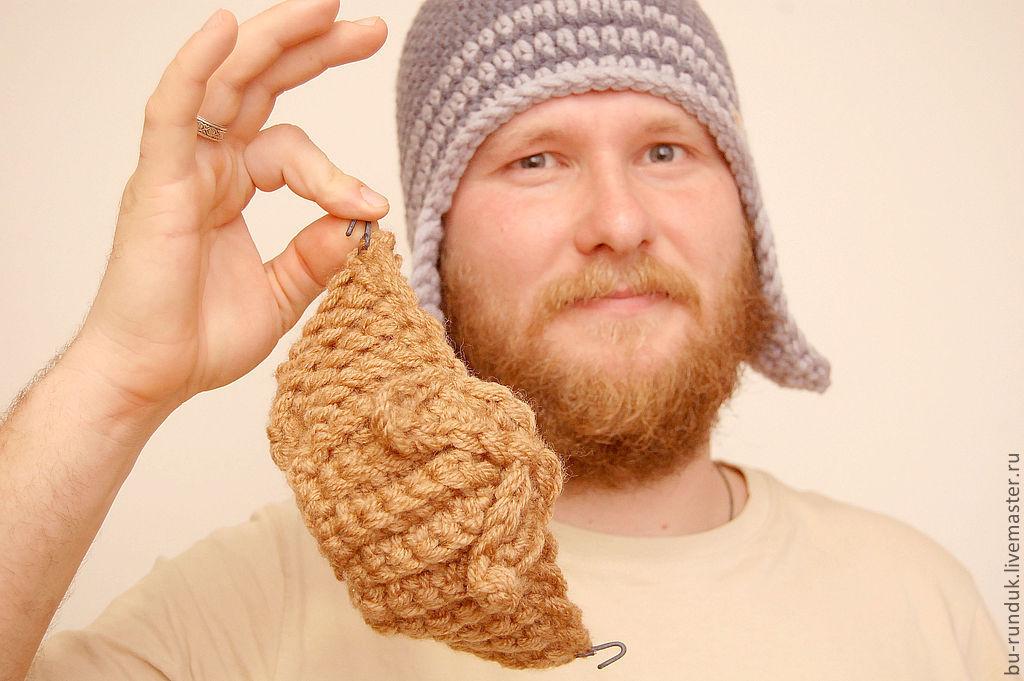 шапка с бородой праздничная купить в интернет магазине на ярмарке