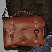 """Классическая сумка ручной работы. Ярмарка Мастеров - ручная работа Кожаная сумка """"Чарли"""". Handmade."""