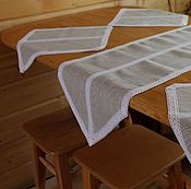 Для дома и интерьера ручной работы. Ярмарка Мастеров - ручная работа Столовый текстиль. Handmade.