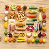 Для дома и интерьера ручной работы. Ярмарка Мастеров - ручная работа Овощи, фрукты и продукты из полимерной глины. Handmade.