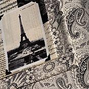 Материалы для творчества ручной работы. Ярмарка Мастеров - ручная работа Ткань для пэчворка April in Paris. Handmade.