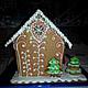 Персональные подарки ручной работы. Сказочный пряничный домик. Пряничное Волшебство (ginger-lili). Ярмарка Мастеров. Пряничный сувенир