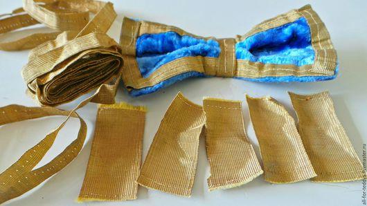 Реставрация. Ярмарка Мастеров - ручная работа. Купить Тесьма винтажная 20-30-х г. метализированная. Handmade. Тесьма