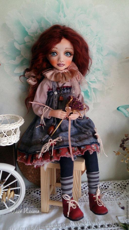 Коллекционные куклы ручной работы. Ярмарка Мастеров - ручная работа. Купить Лейла. Handmade. Серый, кукла ручной работы