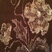 Аксессуары ручной работы. Ярмарка Мастеров - ручная работа Шарф коричневый. Handmade.