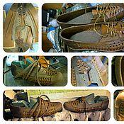 Обувь ручной работы. Ярмарка Мастеров - ручная работа плетёнки. Handmade.