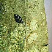 """Одежда ручной работы. Ярмарка Мастеров - ручная работа Жилет """" Трилистник"""" войлок. Handmade."""