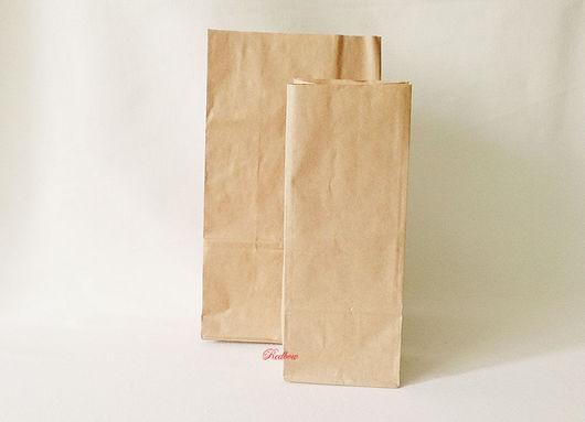 Упаковка ручной работы. Ярмарка Мастеров - ручная работа. Купить Крафт пакеты, 2 размера. Handmade. Крафт пакет, пакеты