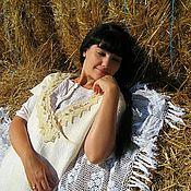 Одежда ручной работы. Ярмарка Мастеров - ручная работа Войлочное платье в эко- стиле .. Handmade.
