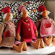 Куклы и игрушки ручной работы. Ярмарка Мастеров - ручная работа Санта Клаус Тильда. Handmade.