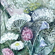 Деревянная рама из  массива сосны с авторской росписью  цветущими травами  для картин с летним и лесным сюжетом.  Оригинальный подарок .Сказка в теплоте рук Коневой Алены.