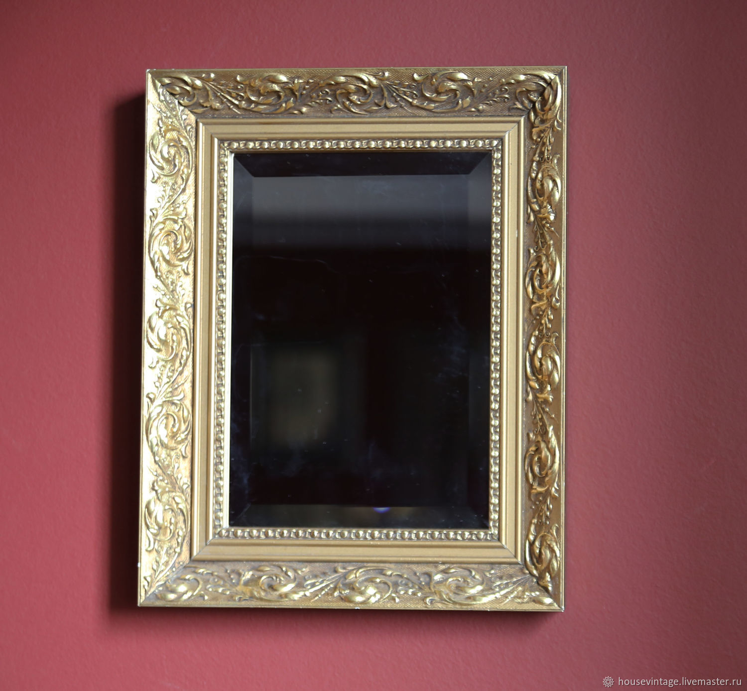 Mirror in antique wood frames – shop online on Livemaster with ...