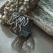 Украшения ручной работы. Ярмарка Мастеров - ручная работа Медное кольцо Буря. Handmade.