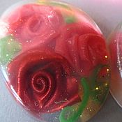 """Косметика ручной работы. Ярмарка Мастеров - ручная работа Мыло """"Чайные розы"""". Handmade."""