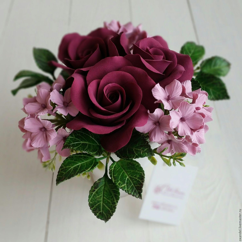 Бордовые цветы фото