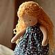 Вальдорфская игрушка ручной работы. Маруся, маленькая принцесса 34см. Калина Ерофеева куклы для детей. Ярмарка Мастеров. Кукла для девочки