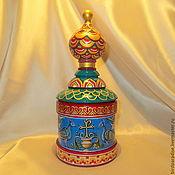 Шкатулки ручной работы. Ярмарка Мастеров - ручная работа Шкатулка храм деревянная расписная для украшений,для мелочей. Handmade.