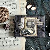Книги для рецептов ручной работы. Ярмарка Мастеров - ручная работа Чековая книга желаний. Handmade.