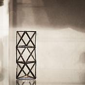 Для дома и интерьера handmade. Livemaster - original item Vase triangle. Handmade.