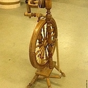 Для дома и интерьера ручной работы. Ярмарка Мастеров - ручная работа Реставрация старой прялки. Handmade.
