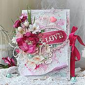 Открытки handmade. Livemaster - original item greeting card for lovers. Handmade.