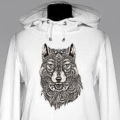 Одежда handmade. Livemaster - original item Full Moon hoodie. Handmade.