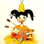 Сувениры и подарки handmade. Livemaster - original item New Year souvenirs: Christmas tree toy needlewoman. Handmade.