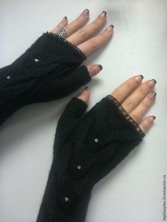 Митенки - рукава вязаные