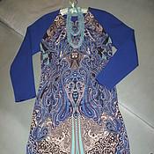 Одежда ручной работы. Ярмарка Мастеров - ручная работа Платье в стиле Etro. Handmade.