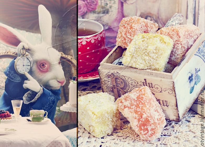 "Набор сахарных скрабов для лица ""Безумное чаепитие"", Скраб для лица, Петродворец,  Фото №1"