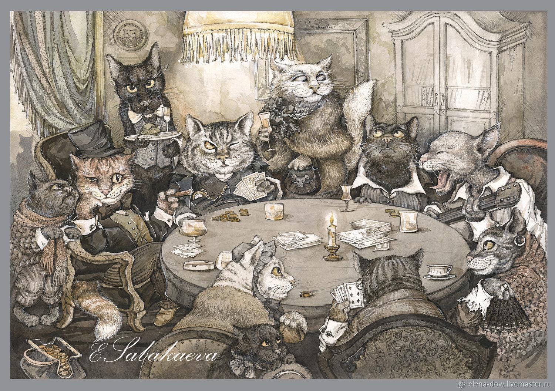Кошачьи шалости, Открытки, Москва,  Фото №1