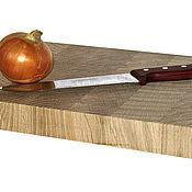 Для дома и интерьера ручной работы. Ярмарка Мастеров - ручная работа Торцевая разделочная доска 400х250х40мм. Handmade.