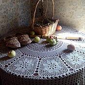 """Для дома и интерьера ручной работы. Ярмарка Мастеров - ручная работа Скатерть """"Балаган""""))). Handmade."""