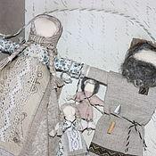 """Куклы и игрушки ручной работы. Ярмарка Мастеров - ручная работа """"Неразлучники"""" Свадебная кукла-оберег. Handmade."""