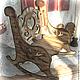 Кукольный дом ручной работы. Кресло- качалка. УЮТНЫЙ ДОМ Марины Прибыткиной. Ярмарка Мастеров. Кукольная мебель, кракелюр