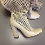 Обувь ручной работы. Ярмарка Мастеров - ручная работа Готовая работа!!! Сапоги летние. Handmade.