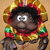 """Куклы и игрушки ручной работы. Ярмарка Мастеров - ручная работа Кукла-попик на Удачу """"Раста"""". Handmade."""