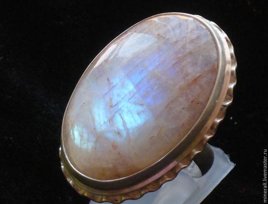 """Кольца ручной работы. Ярмарка Мастеров - ручная работа. Купить кольцо  """"  Мистический свет"""". Handmade. Бежевый, беломорит"""