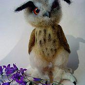 Куклы и игрушки ручной работы. Ярмарка Мастеров - ручная работа Филин Филипп Филиппыч. Handmade.