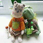 Куклы и игрушки ручной работы. Ярмарка Мастеров - ручная работа Безумная парочка. Handmade.