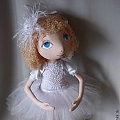 """Куклы и игрушки ручной работы. Ярмарка Мастеров - ручная работа Коллекционная кукла. """"Снежинка-балеринка"""". Handmade."""