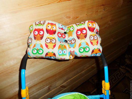 Аксессуары для колясок ручной работы. Ярмарка Мастеров - ручная работа. Купить Мафта для рук на коляску/санки. Handmade. Разноцветный, дюспа, малыш