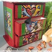 Для дома и интерьера handmade. Livemaster - original item Chest of drawers