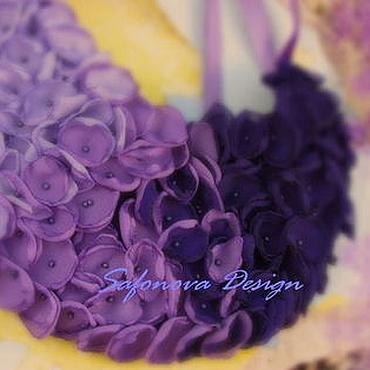 Украшения ручной работы. Ярмарка Мастеров - ручная работа Колье - Lavender Fields-. Handmade.