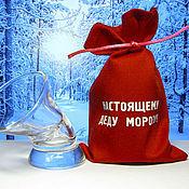 Подарки к праздникам ручной работы. Ярмарка Мастеров - ручная работа Настоящему Деду Морозу! - пьяная рюмка - подарок к Новому Году. Handmade.