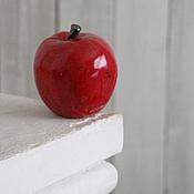 Для дома и интерьера ручной работы. Ярмарка Мастеров - ручная работа Яблоки керамические. Handmade.